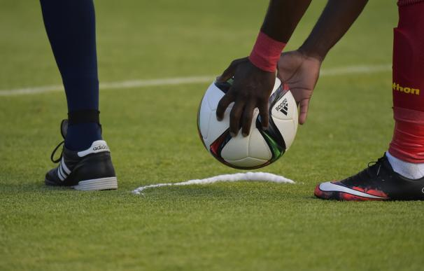 View of the ball during the Russia 2018 FIFA World