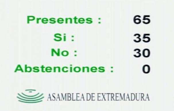 Las Presupuestos de Extremadura se devolverán a la Junta tras prosperar la enmienda de Podemos con el apoyo del PP