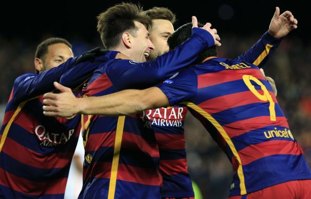 FC Barcelona's Argentinian forward Lionel Messi (2