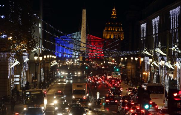A photo taken on November 23, 2015 in Paris shows