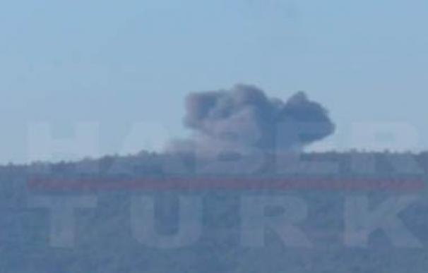 Turquía derriba un F-16 no identificado cerca de su frontera con Siria