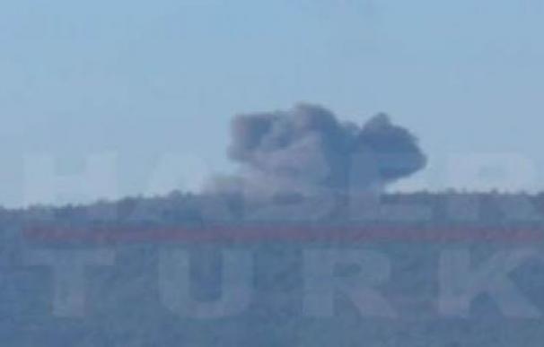 Turquía derriba un F-16