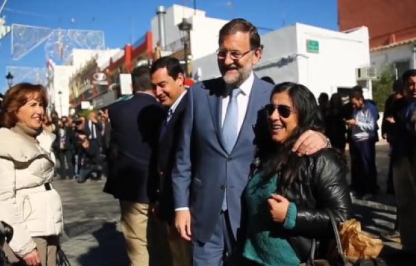 Rajoy en Tomares.