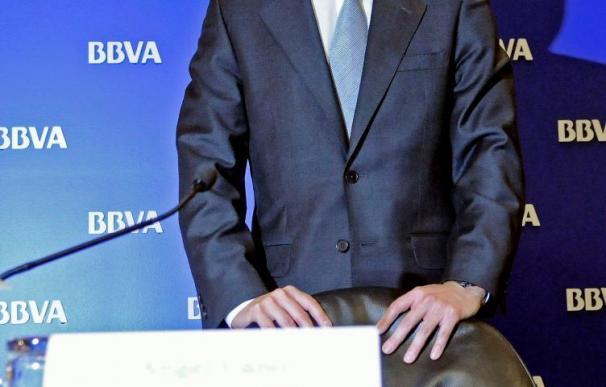 El beneficio neto del BBVA cae el 16,1 por ciento en 2009, hasta 4.210 millones