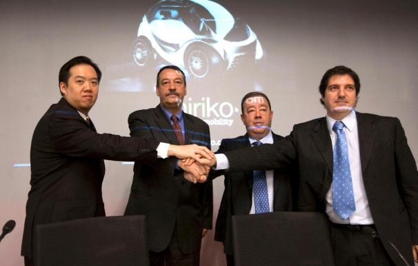 Empresas alavesas desarrollan un coche eléctrico pionero en su fabricación