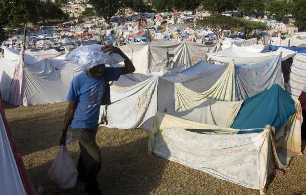 Haití pide ayuda urgente para albergar a los desplazados