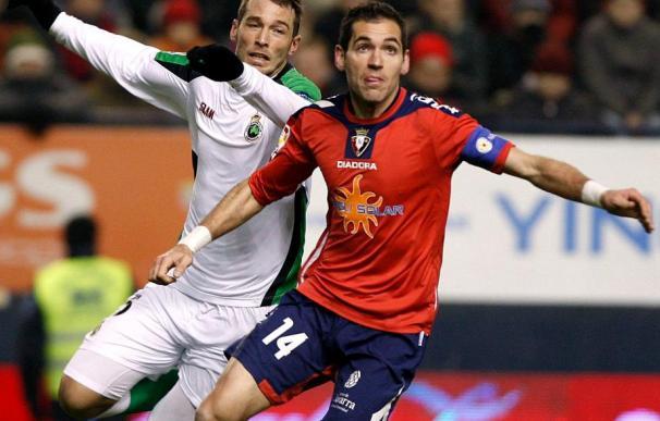 0-3. El Racing golea en Pamplona para certificar su pase a semifinales de la Copa