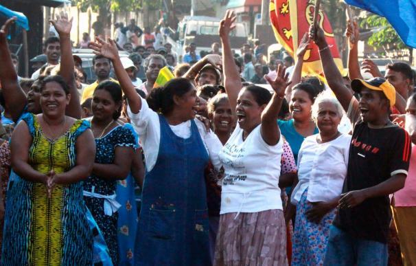 Rajapaksa encabeza los primeros recuentos de votos en los comicios presidenciales