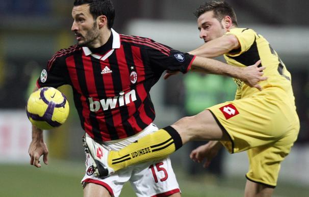 El Udinese elimina al Milán de la Copa