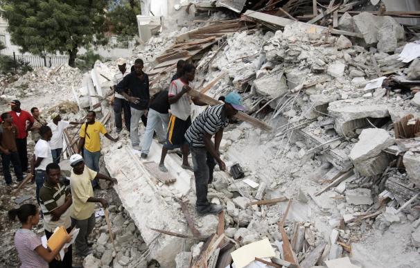 La Cruz Roja haitiana dice que hay entre 45.000 y 50.000 muertos