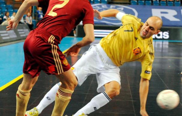 Rusia, 0 - España, 0 (6-7, penaltis)