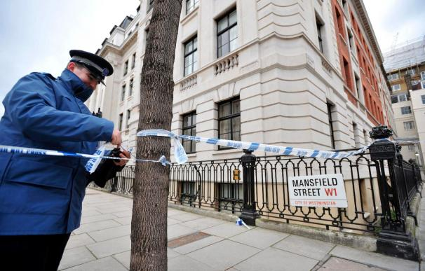 Un detenido en Inglaterra en virtud de las leyes antiterroristas