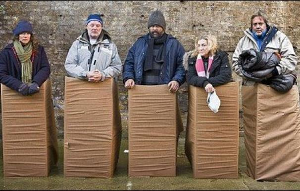 La versión británica de 'Famosos y mendigos'.