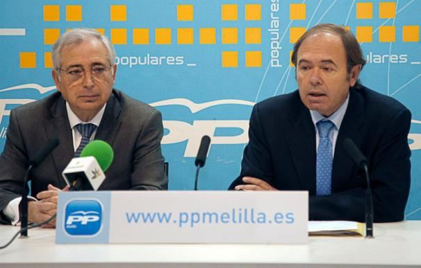 """El PP considera """"absolutamente necesario"""" que Melilla y Ceuta sean Comunidad Autónoma"""