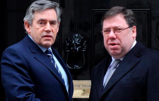 Brown y Cowen prosiguen hoy la mediación en la crisis política de Irlanda del Norte