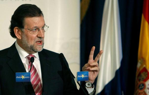 Rajoy recuerda que el futuro de las pensiones depende de la creación de empleo