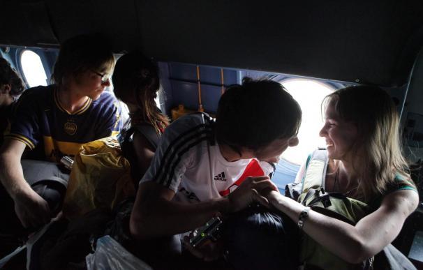 Españoles evacuados de Machu Picchu critican la desorganización del rescate