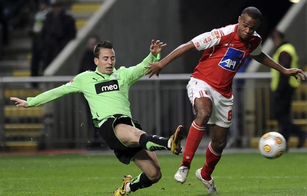 El Braga liquida al Sporting (1-0) y se afianza como líder de la Liga lusa