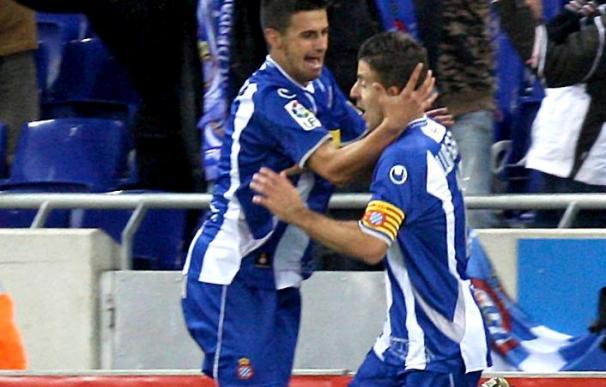 1-0. Luis García da una sufrida victoria al Espanyol ante el Athletic