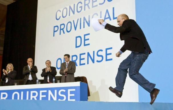 Baltar nuevo presidente del PP de Ourense, respaldado por el 60% de los compromisarios