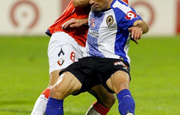 2-1. El Hércules demuestra su calidad y supera a Osasuna