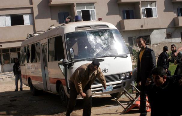 Coptos egipcios celebran la Navidad conmocionados por el asesinato de ocho fieles