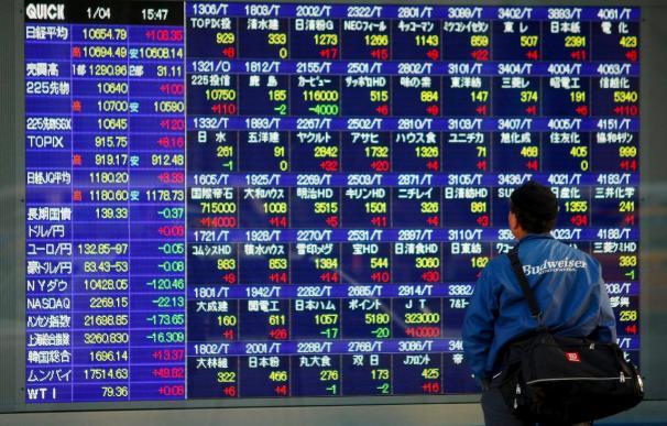 El índice Nikkei baja un 0,05 por ciento hasta 10.726,50 puntos