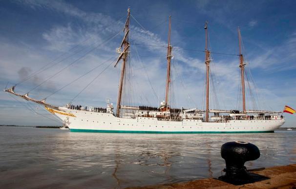 Elcano hará escala mañana en el puerto de Las Palmas de Gran Canaria