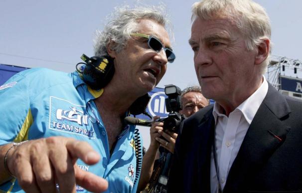 Mosley se muestra contrario a la posibilidad de un regreso de Briatore a la Fórmula Uno