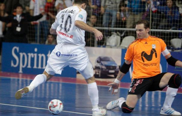 6-10. El Lobelle sorprende al Inter Movistar y jugará la final contra ElPozo