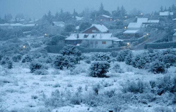 Once CCAA están en alerta a causa de la nieve que afecta a casi todo el país
