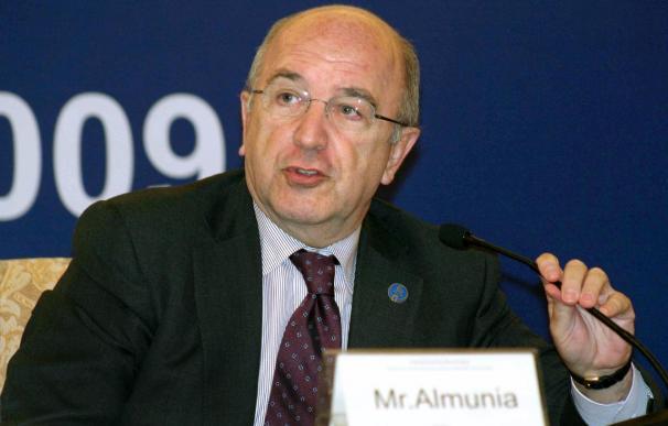 Almunia buscará apoyar desde Competencia los planes para salir de la crisis
