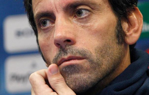 Sánchez Flores se muestra enfadado con el equipo