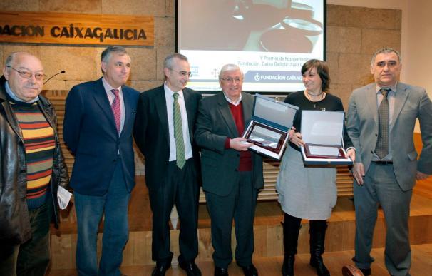 """Emilio Lavandeira Prieto recibe el premio """"Una vida en imágenes"""""""