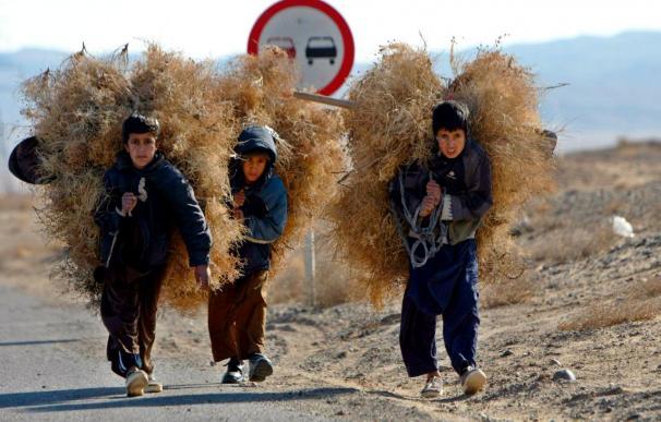 Tres niños heridos graves en un tiroteo entre insurgentes y soldados de la ISAF