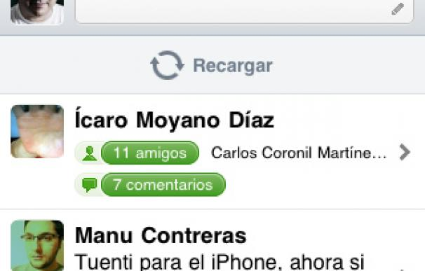 Tuenti para iPhone / iPod Touch