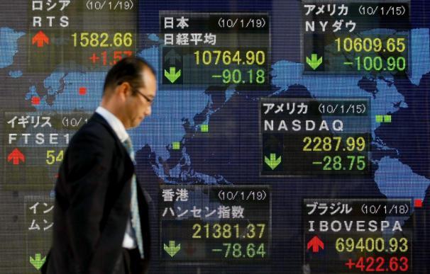 El Nikkei cae 277,86 puntos, el 2,55 por ciento, hasta los 10.590,55 puntos