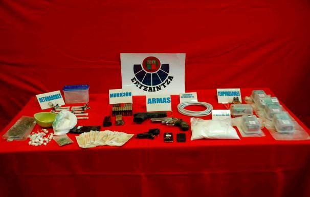 Los etarras detenidos tenían 39 dosis de cocaína preparadas para la venta