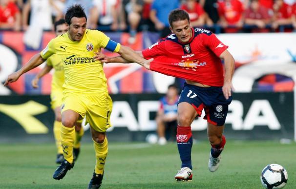 El Villarreal no gana al Osasuna en El Madrigal desde la Liga 2005-2006