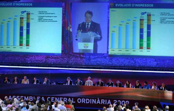 El Barça obtiene 8 millones de euros de beneficio en el último semestre de 2009