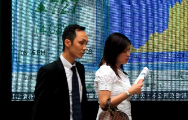 El índice Hang Seng sube un 0,84% en la apertura, 169,26 puntos, hasta 20.202,33