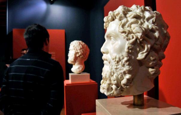 Una exposición escultura muestra en Segovia rostros y retratos de la época romana