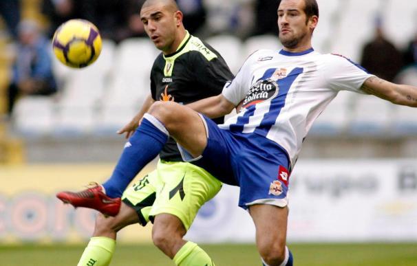 1-0. Juan Rodríguez recupera el gol y la victoria para el Deportivo