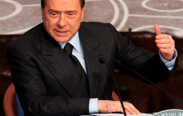 Berlusconi critica la colonización israelí antes de su llegada al país
