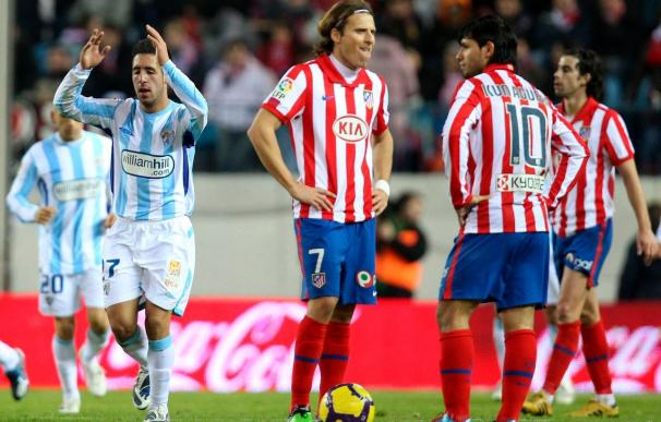 0-2. El Málaga devuelve a un infame Atlético a su triste realidad
