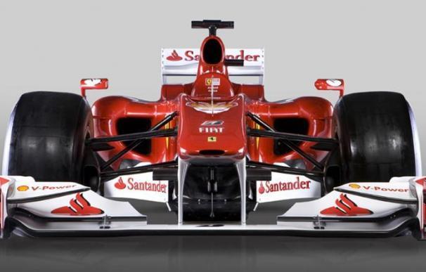 Ferrari presenta el 'F10' de Fernando Alonso