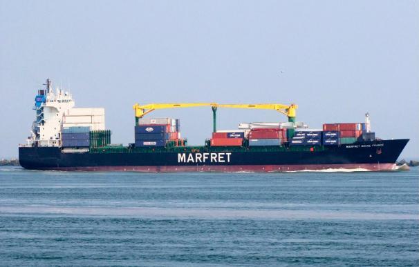 La flota mercante mundial creció un 7 por ciento y la española cayó un 2 por ciento en 2009