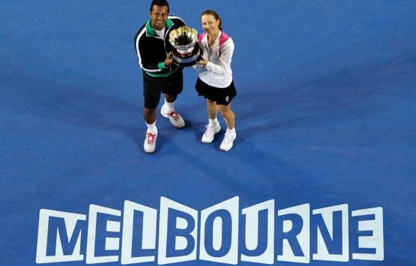 Cara Black y Leander Paes ganan el título de mixtos en el Abierto de Australia
