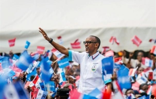 Ruanda celebra este viernes unas elecciones presidenciales que podrían perpetuar a Kagame en el cargo