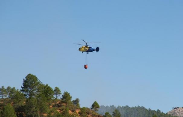 El fuego de Cañamares ya se encuentra estabilizado y ha quemado 185 hectáreas, principalmente en una ZEPA
